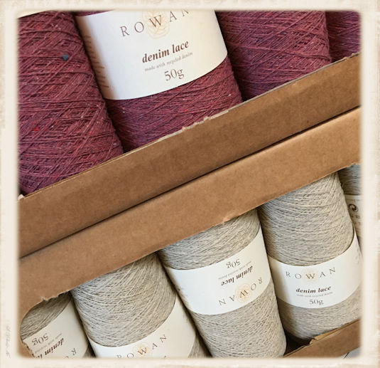 Rowan Denim Lace in the box